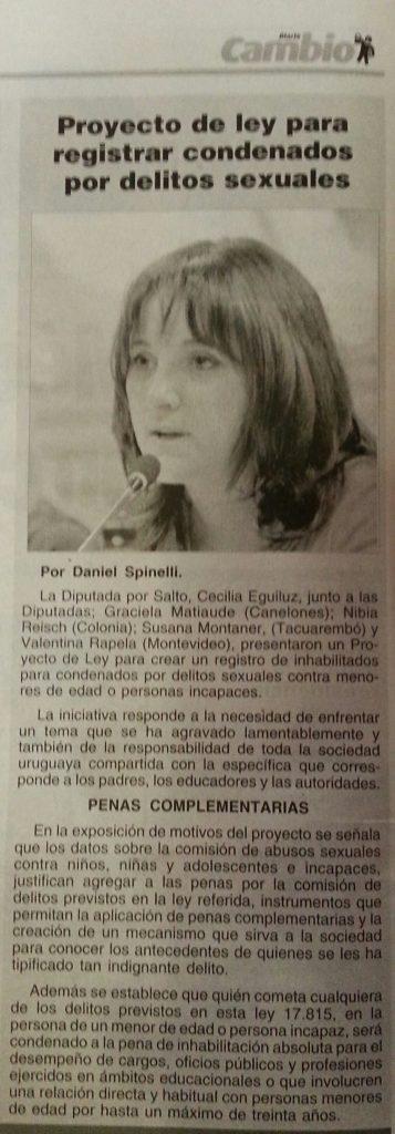 Diario Cambio - Edición impresa - Captura